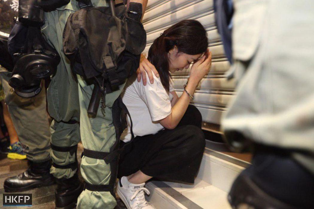august 10 tsim sha tsui nathan road china extradition