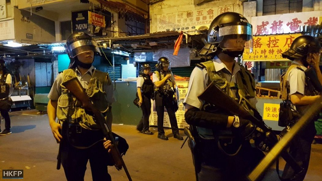 U.S. Calls China `Thuggish Regime' as Hong Kong Feud Escalates