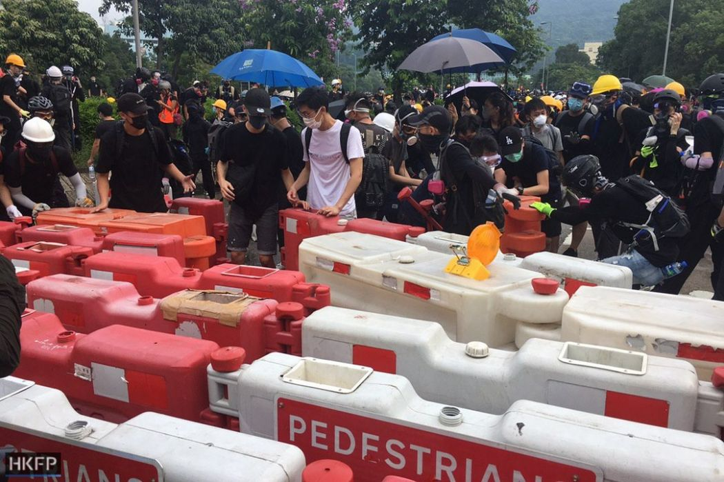 barricade wong uk flag tai po august 10 china extradition (3)a