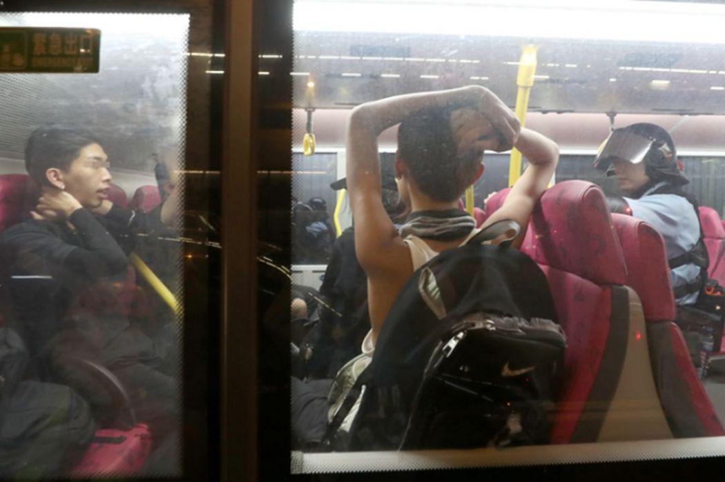 kowloon bay bus police china extradition sep 3
