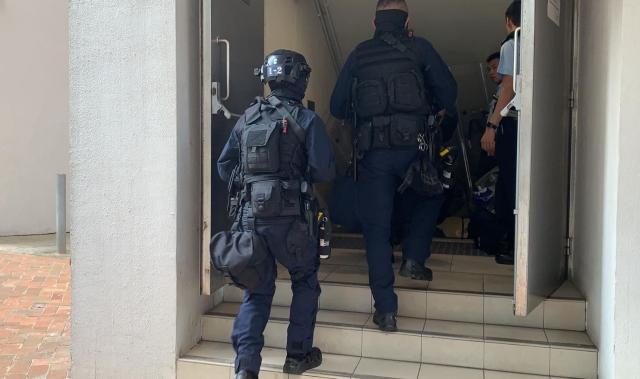 police Queen Elizabeth Stadium