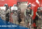riot police mtr china extradition strike