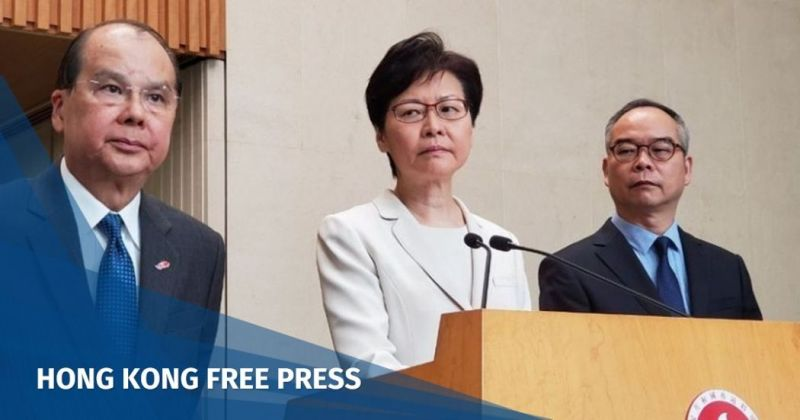 carrie lam china extradition bill withdrawal
