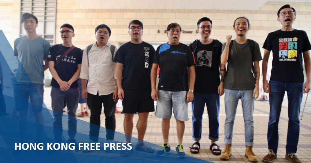 china liaison office protest unlawful assembly
