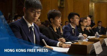 Hong Kong pro-democracy activist Joshua Wong