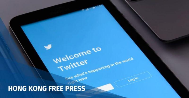 twitter closes accounts hong kong