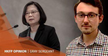gray sergeant taiwan tsai ing-wen