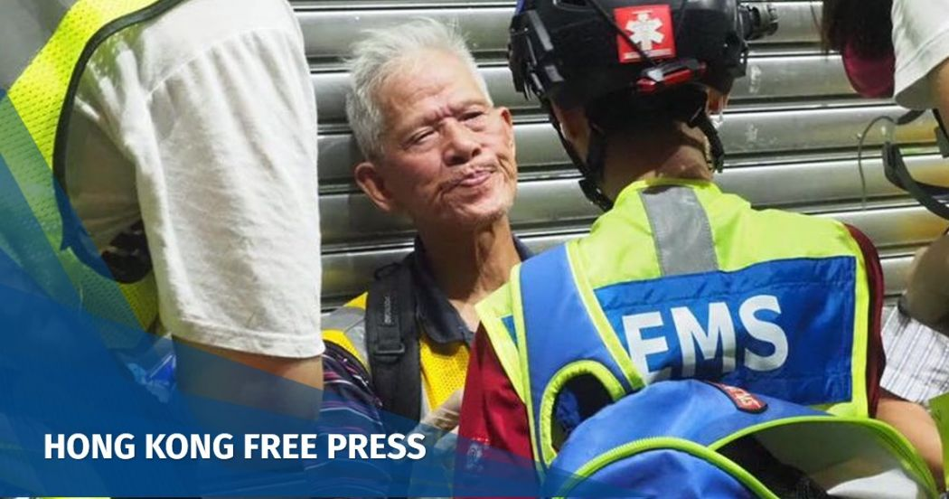 Chan Ki-kau grandpa chan china extradition yuen long