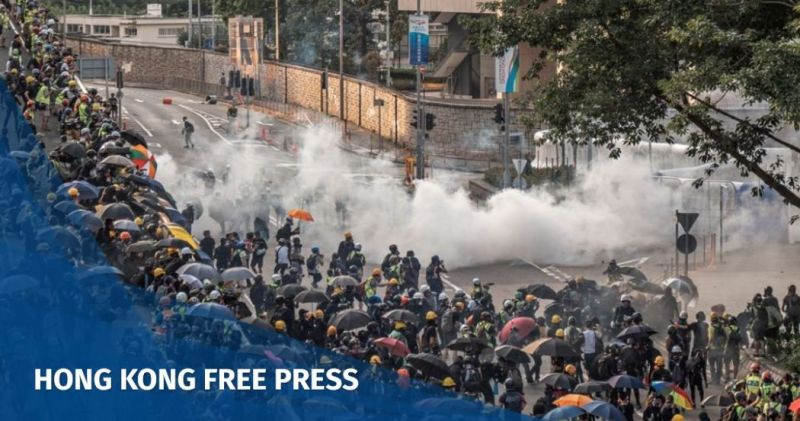 Hong Kong protests misinformation