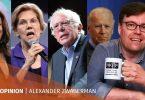 Elizabeth Warren Bernie Sanders Kamala Harris Joe Biden