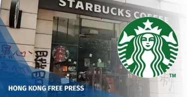 causeway bay starbucks vandalism china extradition protest