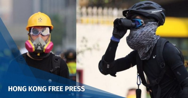 radical hong kong protester