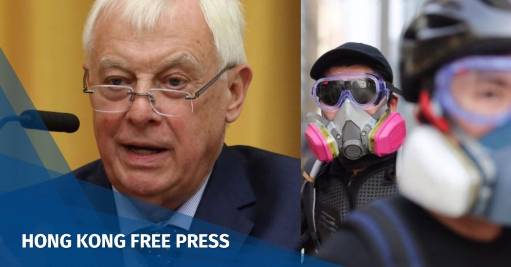 China must give Hong Kong leaders room to compromise, ex-governor Chris Patten says | Hong Kong Free Press HKFP