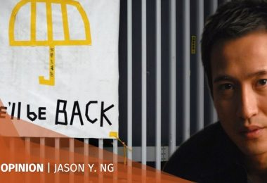Jason Y Ng occupy extradition protests