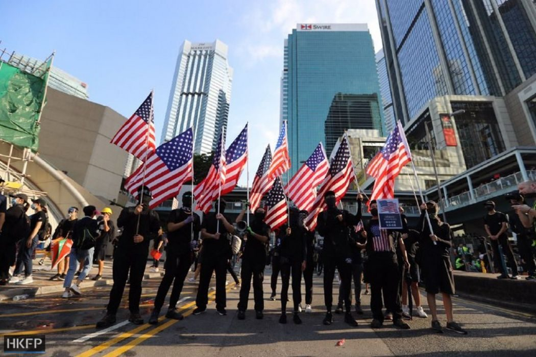 September 15 china extradition US flag