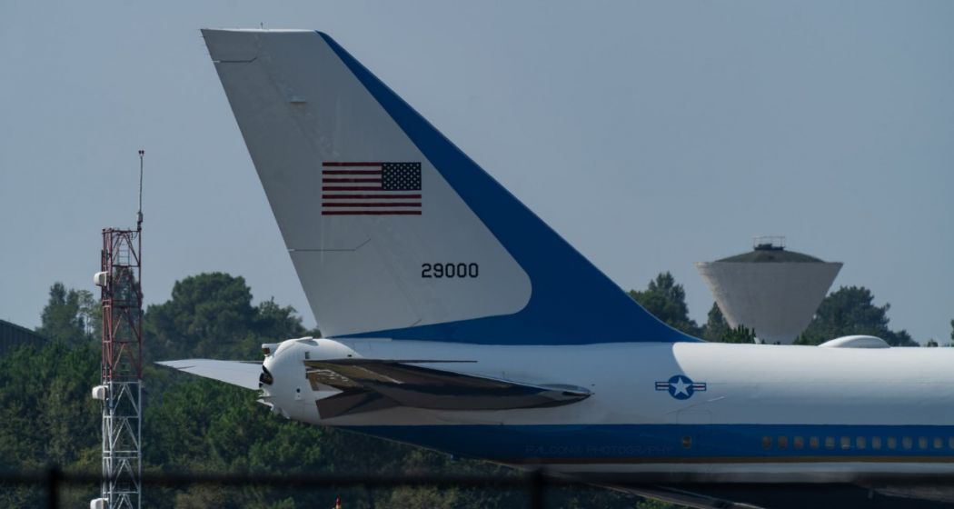 air force one us airplane