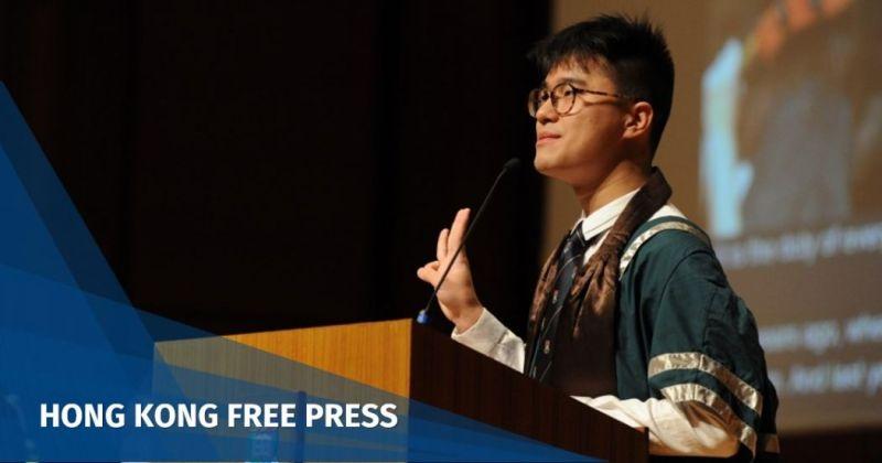 HKUSU President Davin Wong