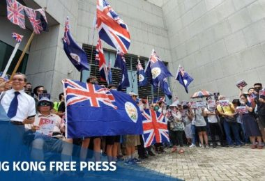 September 15 china extradition uk british flag consulate