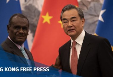 Taiwan China Solomon Islands Wang Yi Jeremiah Manele