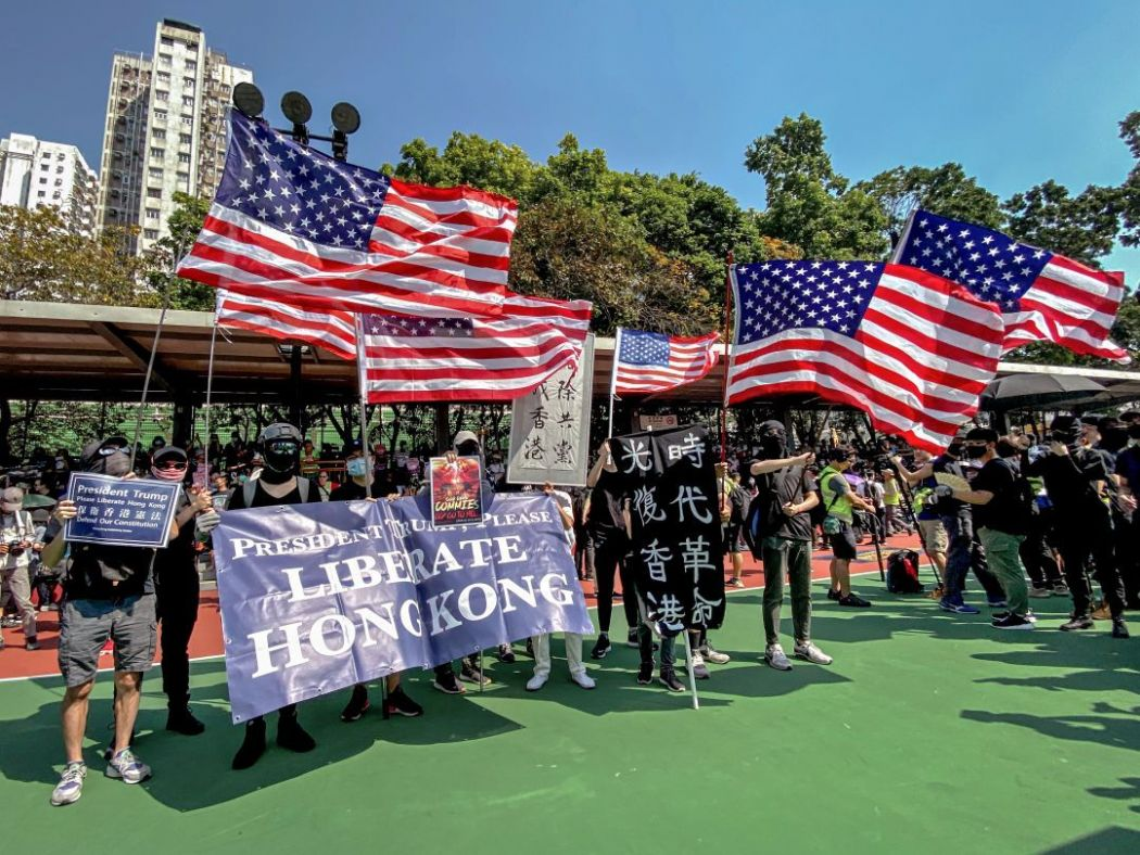 september 22 Tuen Mun march china extradition protest