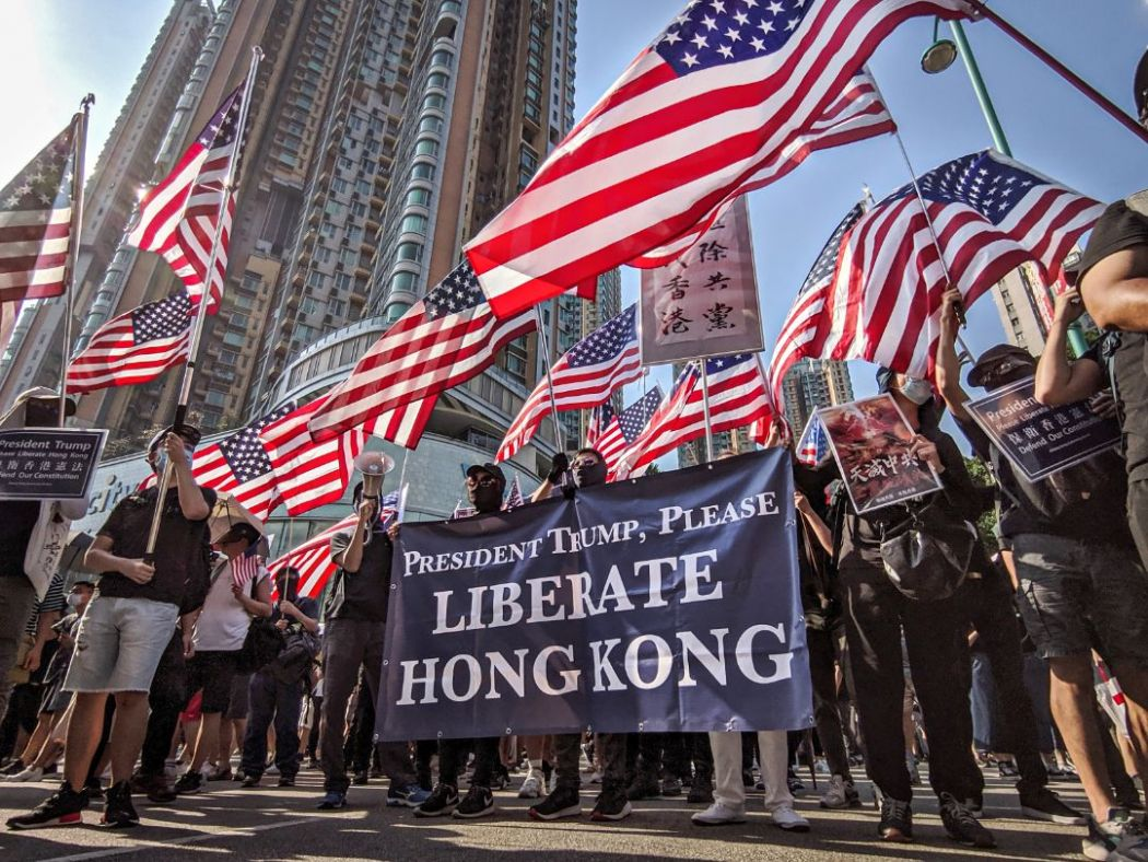 september 22 Tuen Mun march china extradition protest US