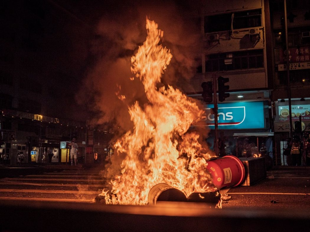 september 15 China extradition fire