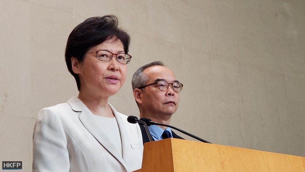 September 5 Carrie Lam