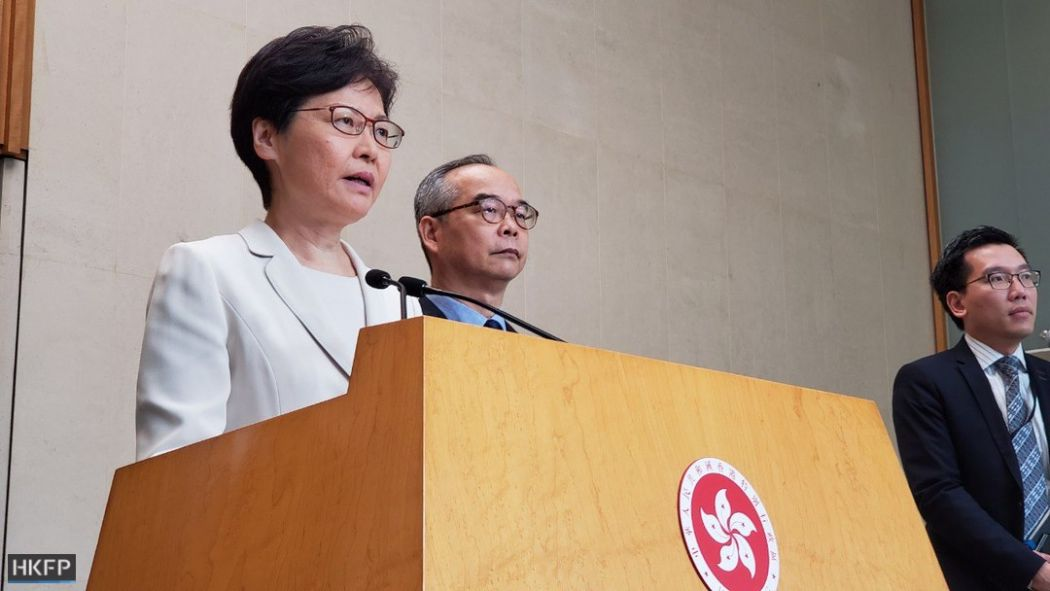 September 5 Carrie Lam