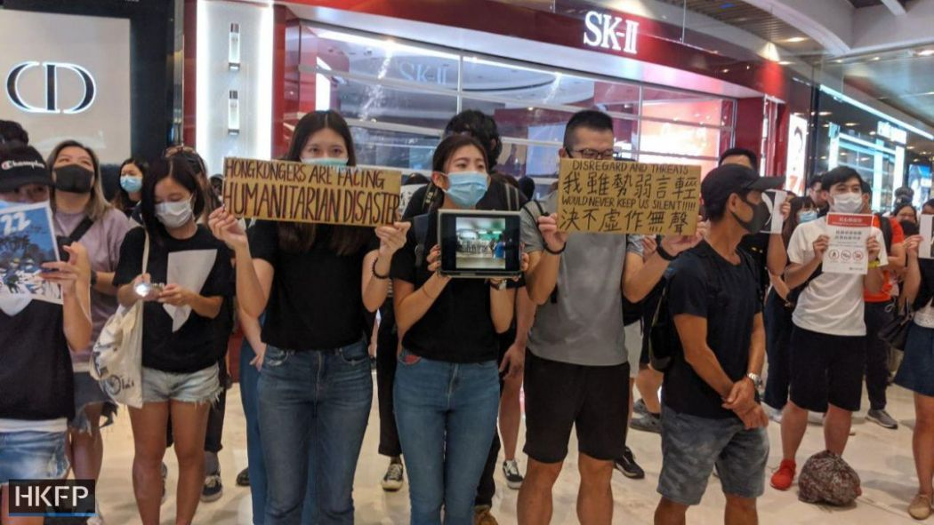 september 21 yuen long china extradition