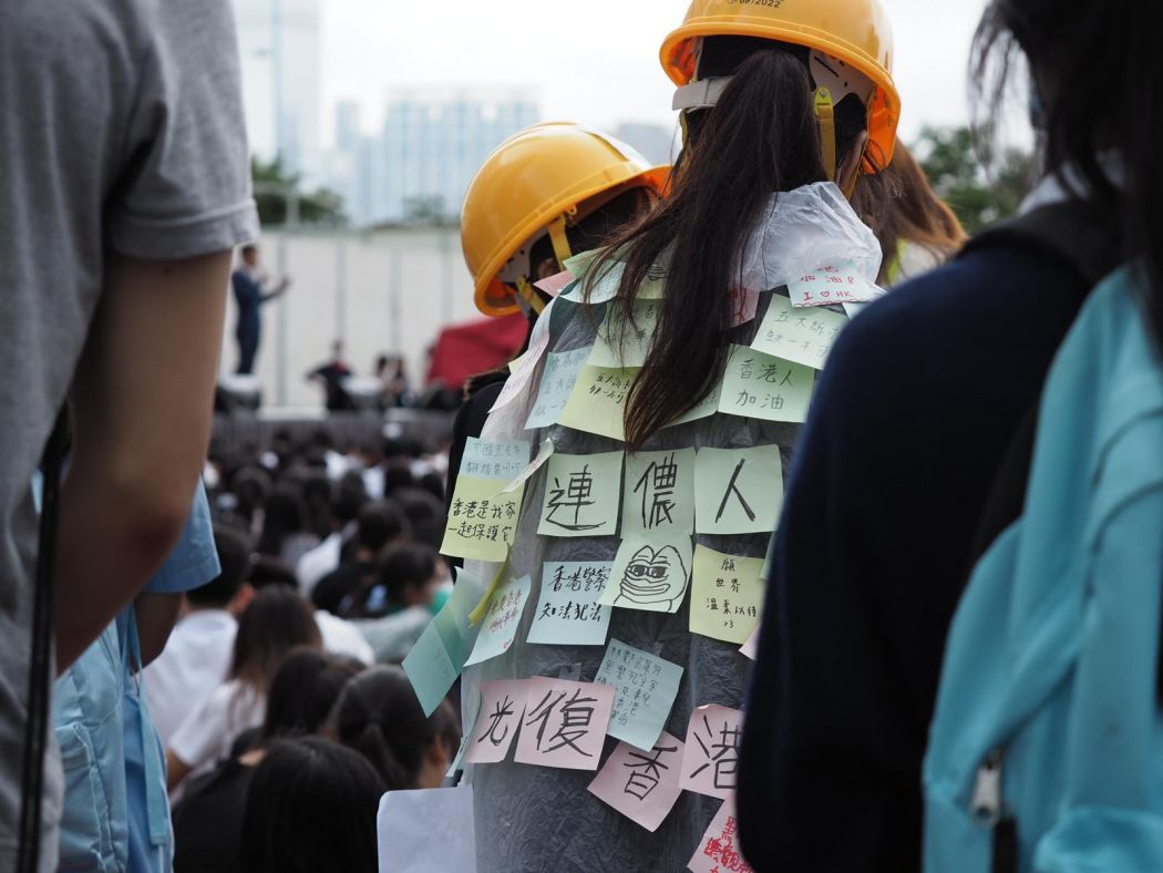 In Pictures: Hong Kong students boycott classes as China