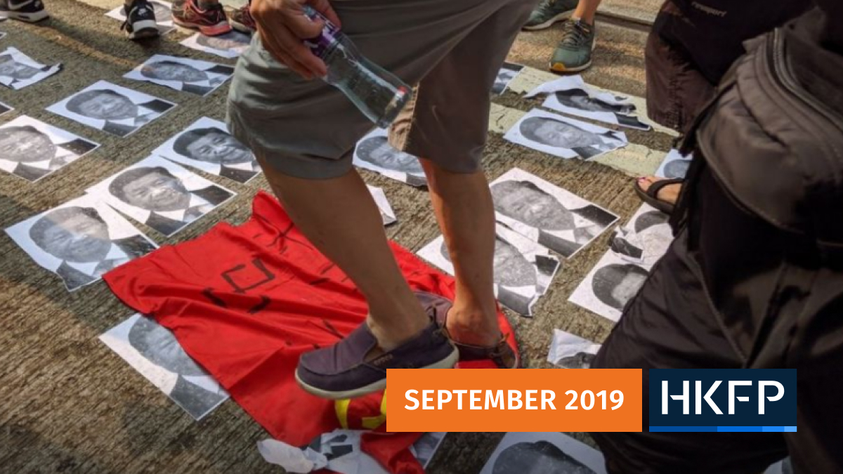 september 29 china extradition protest police
