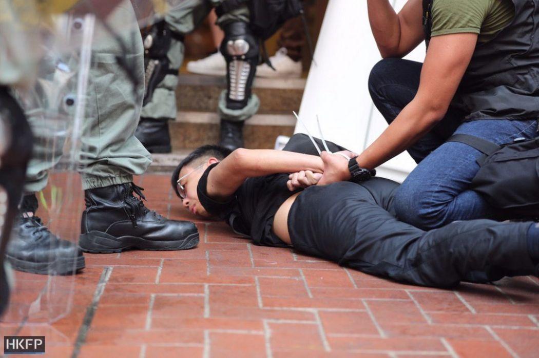 arrest september 29 sogo causeway bay protest (1)