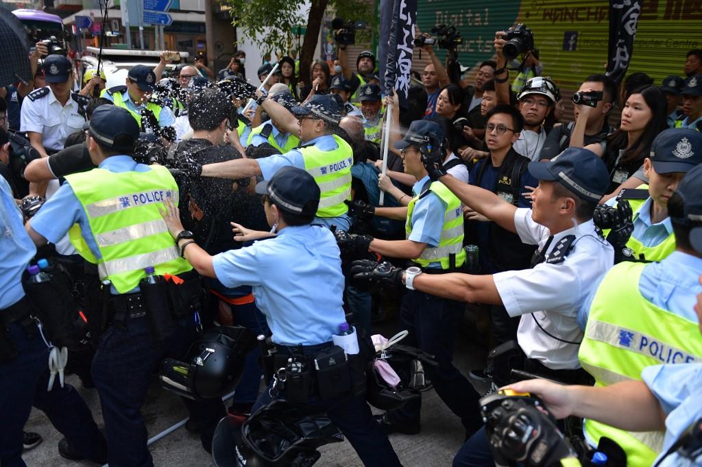 Hong Kong LSD protest Oct 1 National Day