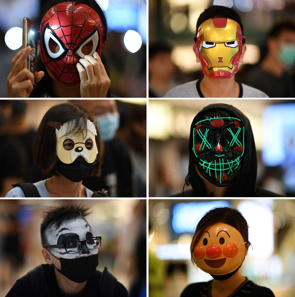 masks hong kong