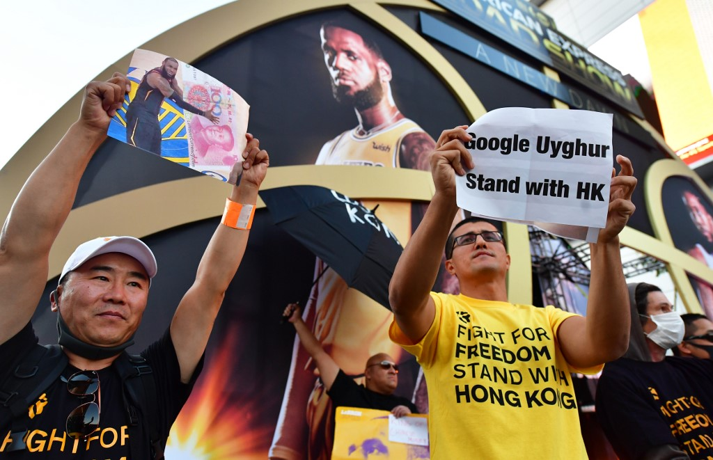 nba hong kong protest