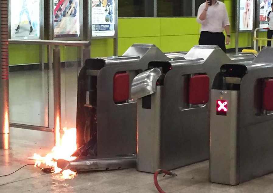 MTR Tiu Keng Leng station