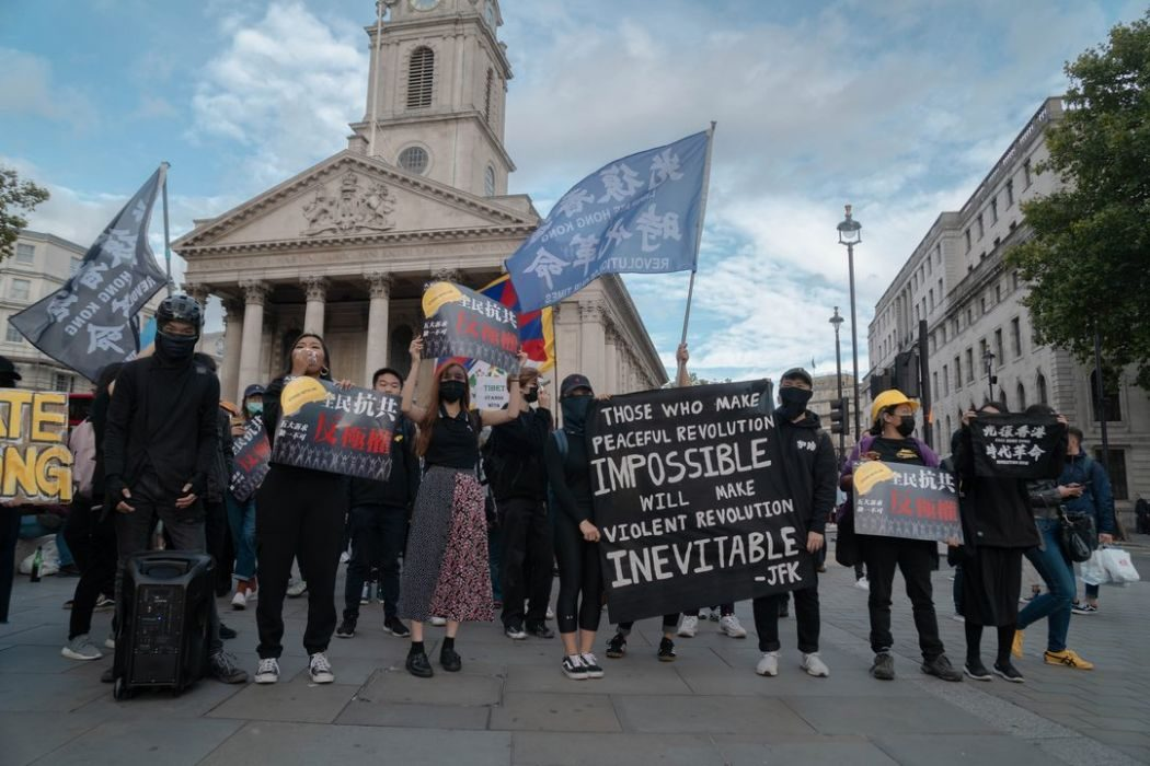 london solidarity protest