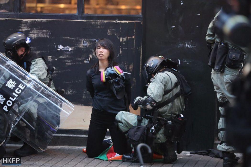 october 6 hong kong island arrest