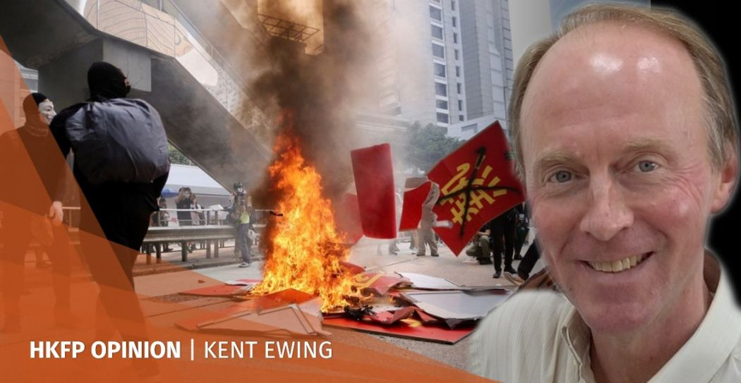 Kent Ewing National Day Carrie Lam protest October 1