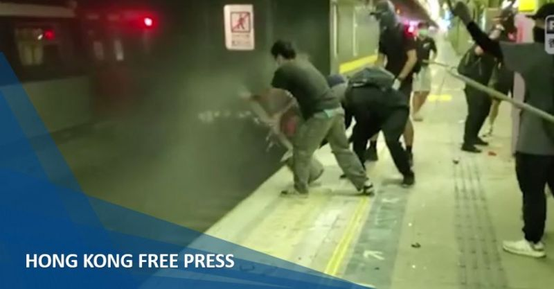 fanling mtr train attack china extradition