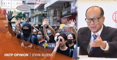Protest Li Ka-shing