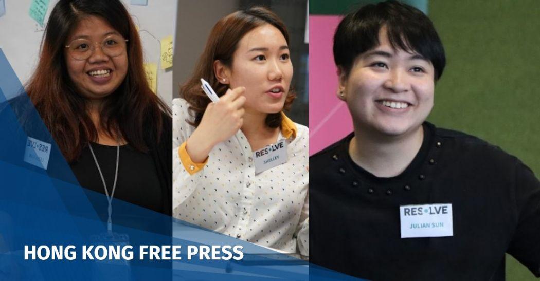 'You're not alone': Hong Kong activists united over raising awareness about gender-based violence   Hong Kong Free Press HKFP