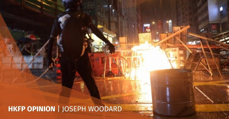 hong kong protests joseph woodard