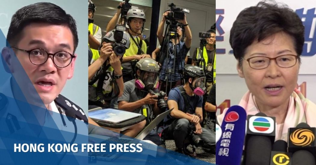'No plan' for gov't registration of journalists, says Hong Kong's Carrie Lam amid press freedom fears   Hong Kong Free Press HKFP