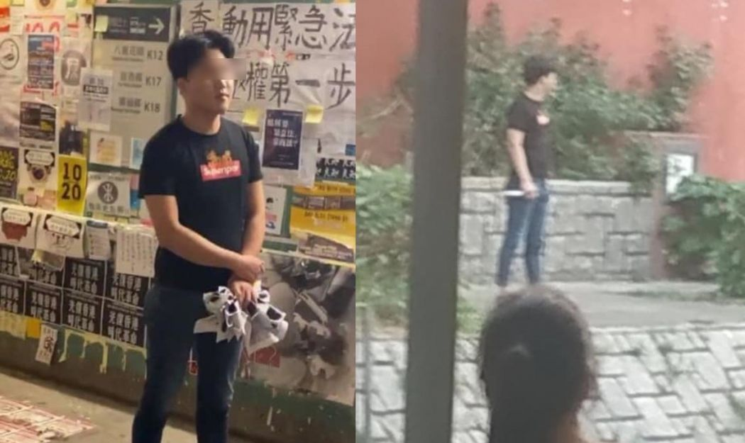 tai po lennon wall attacker