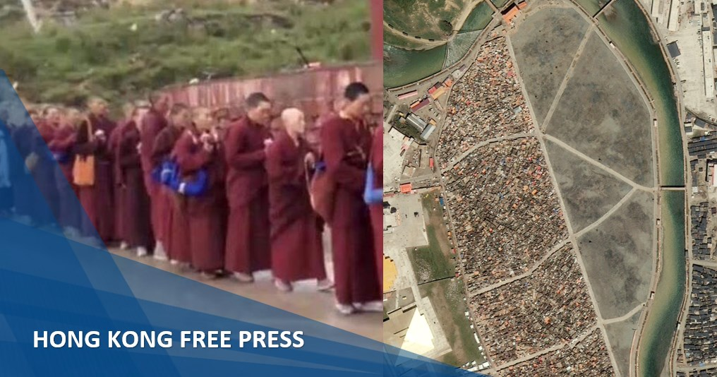 China has destroyed large areas of one of Tibet's biggest Buddhist sites, satellite images reveal | Hong Kong Free Press HKFP