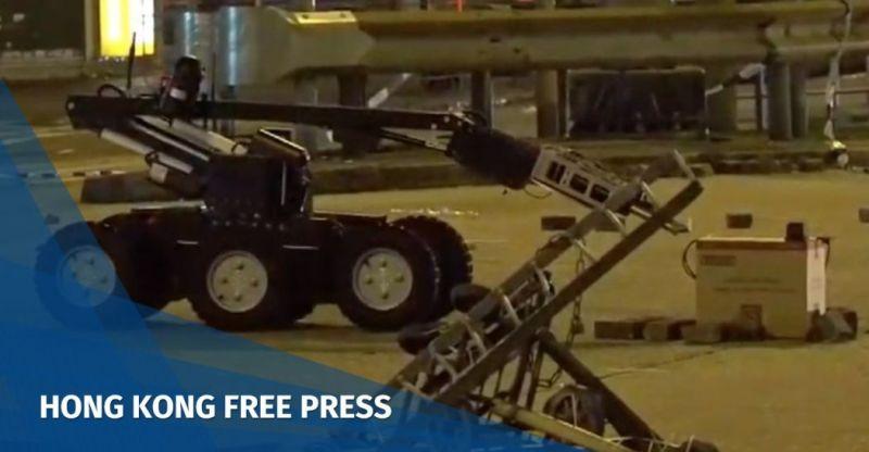 bomb disposal robot october 20