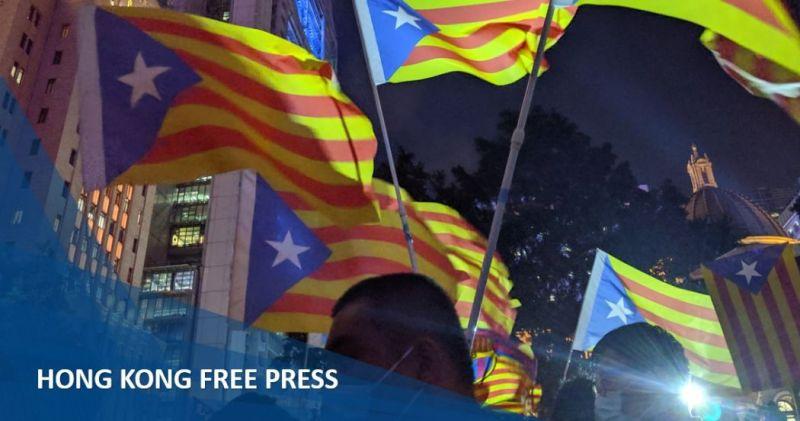 october 25 catalonia catalan solidarity rally