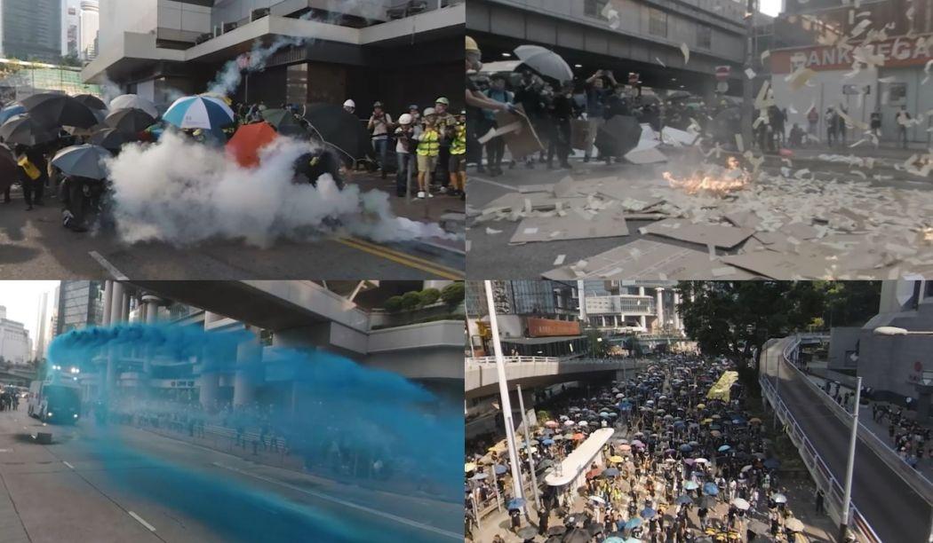 360 hong kong protest