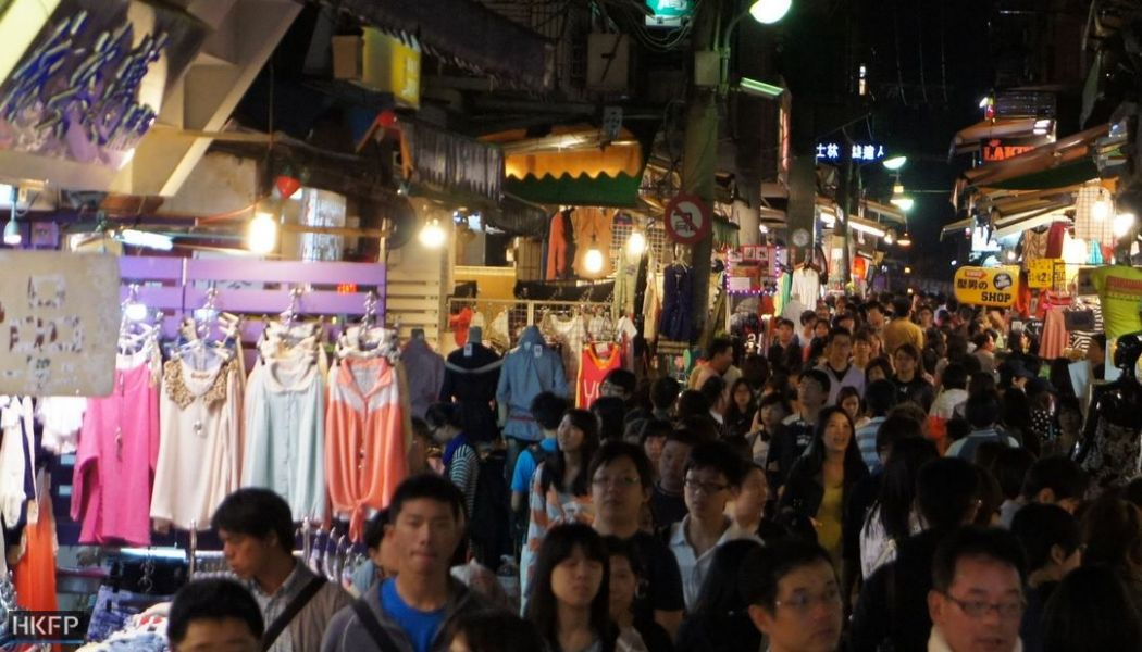 Shilin Night Market. Photo: Tom Grundy/HKFP.